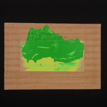 Sir Howard Hodgkin CH CBE - Indian View D, 1971