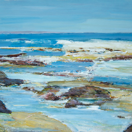 Vincent Wilson - Low Tide, September Morning, 2014