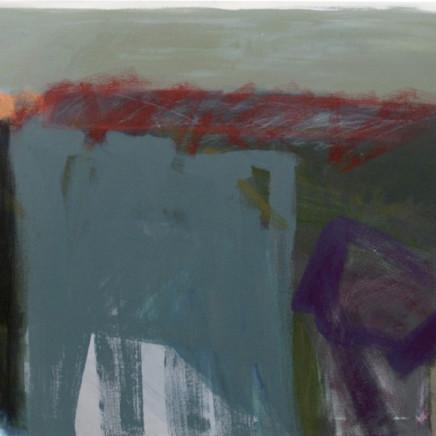 Julia Wilson - Dark Trail with Red, 2013