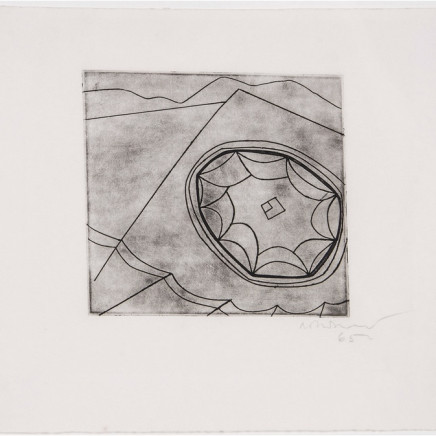 Ben Nicholson OM - Olympic Fragment (C.118), 1965