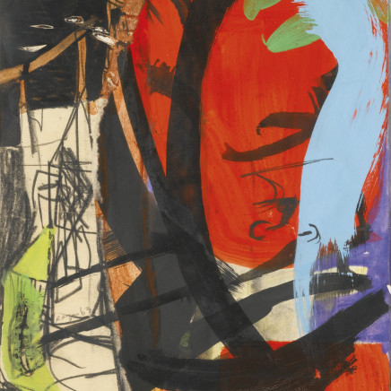 Peter Lanyon - Red Leaf and Tower, 1963