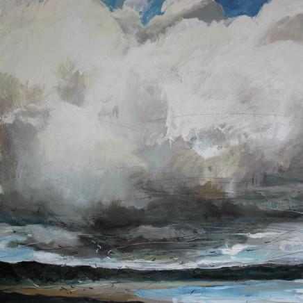 Sara Dudman RWA - Herring Gulls (Gwithian Beach) 1, 2018