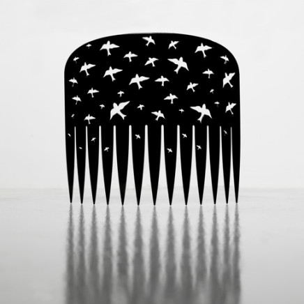 Lonnie Hutchinson - Comb (black), 2009-17