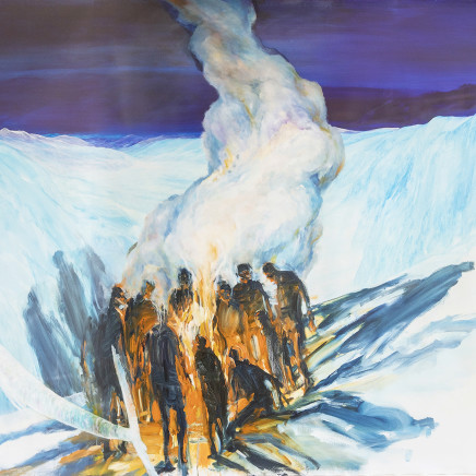 John Walsh - Fire and Ice (Collaboration with Euan Macleod), 2016