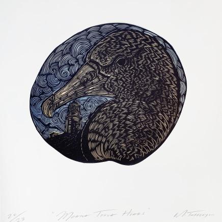 Michel Tuffery - Moana Toroa Heads, 2016