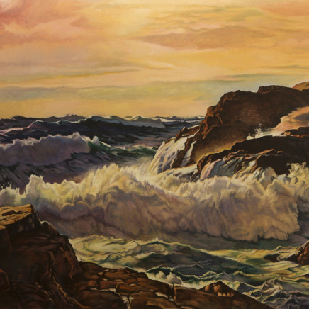 Dick Frizzell - Sunrise, Sunset, 18/8/2017