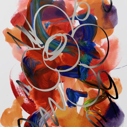 Jeff Koons - Flower Drawing, 2019