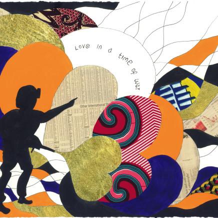 Yinka Shonibare - Love in a Time of War 4, 2015