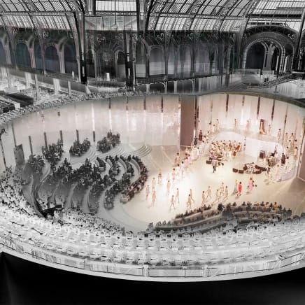 CHANEL, The Crucible, SOLAR, Grand Palais, Paris, Spring/Suimmer 2014, 2014