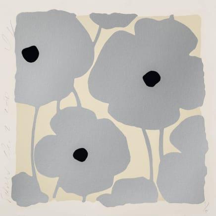 Three Poppies (Silvers), Dec 2, 2020