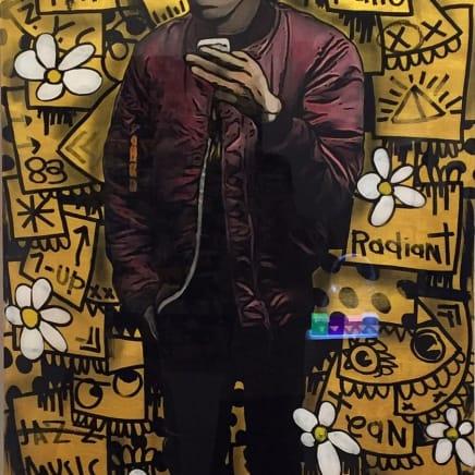 Basquiat - Gold, 2016