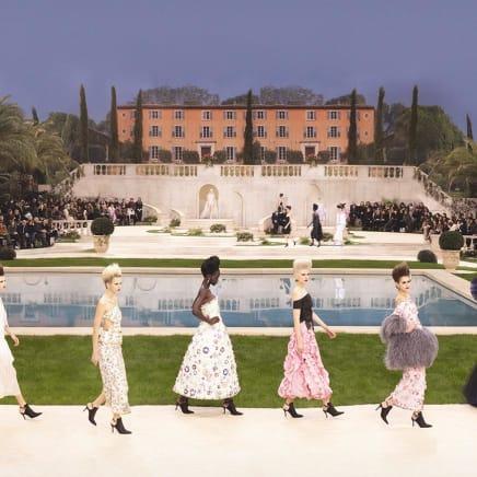 Chanel Villa, Haute Couture, Spring/Summer 2019, Le Grand Palais, Paris