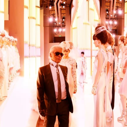 Chanel Karl and Brides, Haute Couture 2010, Rue Cambon, Paris