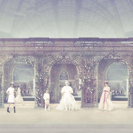 Chanel Garden, Haute Couture Spring Summer 2019, Le Grand Palais, Paris, 2018