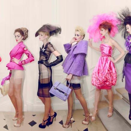 Dior 6 Girls, Haute Couture Winter, 2009