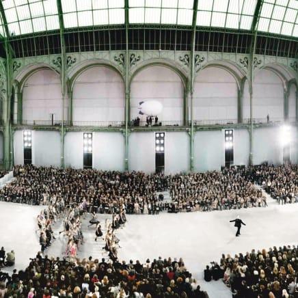 Chanel, Karl at the Grand Palais, 2006