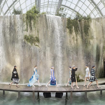 Chanel Arcadia, Spring Summer 2018, Le Grand Palais, Paris, 2017