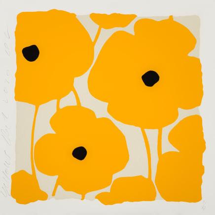 Three Poppies (Yellows), Dec 2, 2020