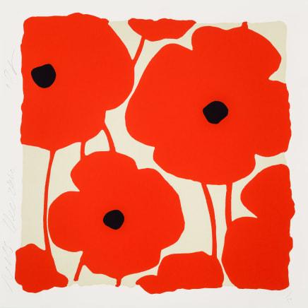 Three Poppies (Reds), Dec 2, 2020