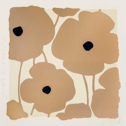 Three Poppies (Golds), Dec 2, 2020