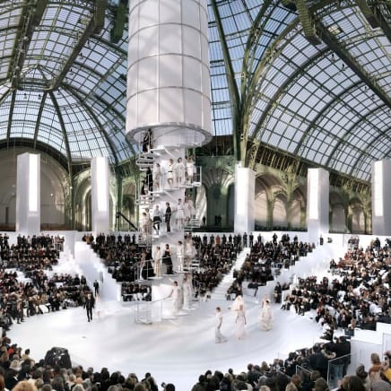 Chanel The Tower, Fall/Winter 2004, Le Grand Palais, Paris