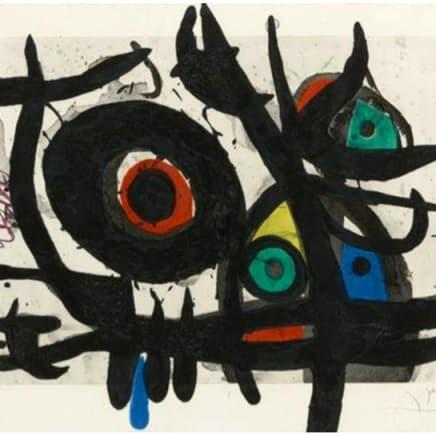 Joan Miró - L'Oiseau Destructeur
