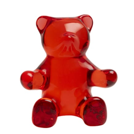 Sitting Teddy Bear (Red)