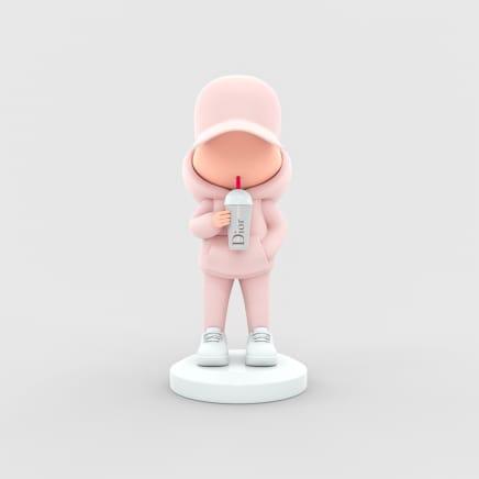 Leo & Steph - Untitled (Dior - Pink)