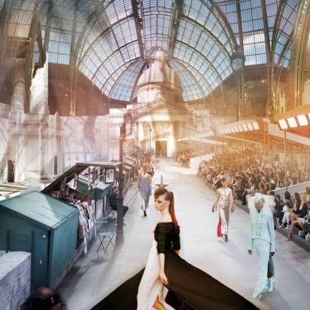 Chanel Basilica, Haute Couture Fall/Winter 2018, Le Grand Palais, Paris