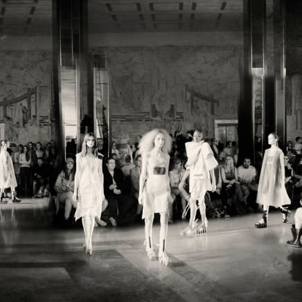 Ghosts of the Palais de Chaillot Rick Owens Spring Summer 2015 in Paris