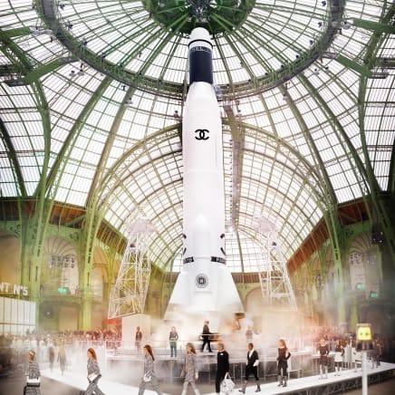 CHANEL, Rocket Colour (Featuring Bella Hadid), 2017