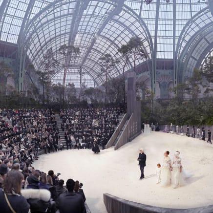 Chanel Forest, Haute Couture, Spring/Summer 2013, Le Grand Palais, Paris