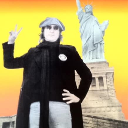 Bob Gruen - John Lennon (Blend/Red/Orange/Yellow)