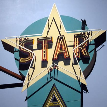 Detail of Aqua Star