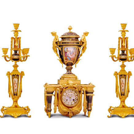 MANTLE CLOCK / CLOCK SET
