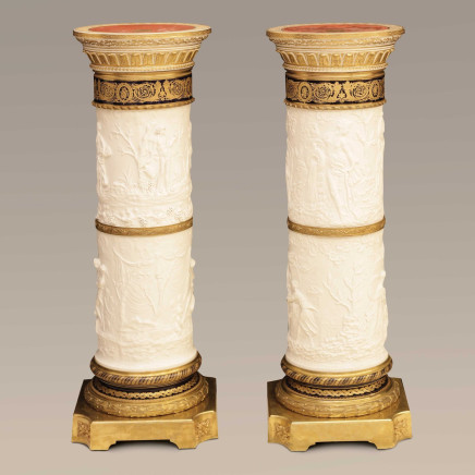 Jacques Philippe Lesueur - Pair of Pedestals
