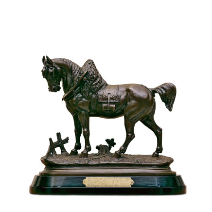 Paul Edouard Delabrierre - Horse figure