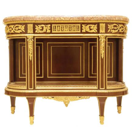 Henry Dasson - Console Dessert Table, Louis XVI Style