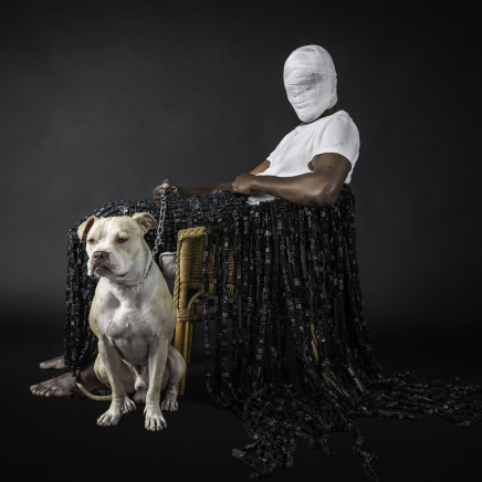 Maurice Mbikayi - MASK OF HETEROTOPIA 2, 2018