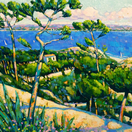 Terence Clarke - Looking Towards the Bay of Napoule