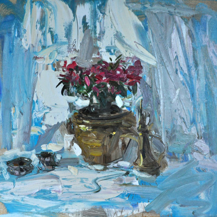 Richard Colson - Still Life with Red Azalea