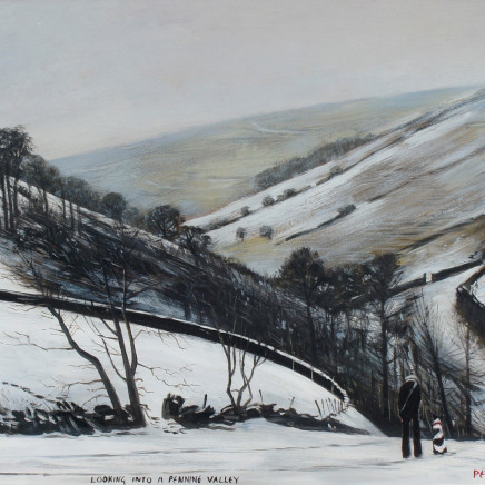 Peter Brook RBA - Looking into a Pennine Valley