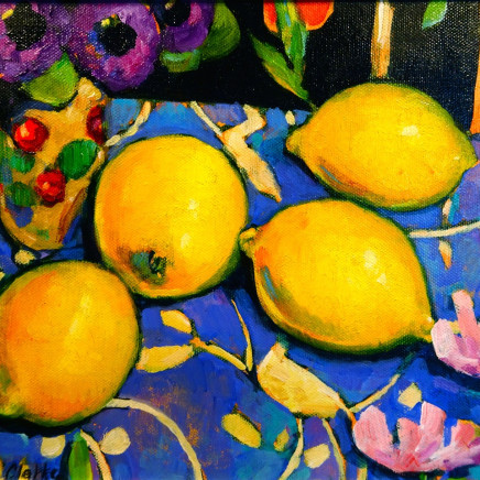Terence Clarke - Pansies and Lemons