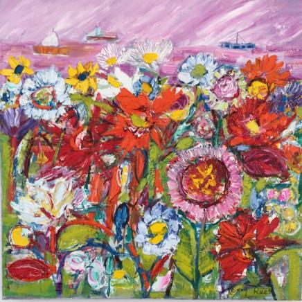 Penny Rees - Estuary Garden, 2021