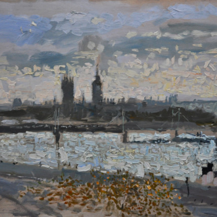 Richard Colson - View from Somerset House, Evening