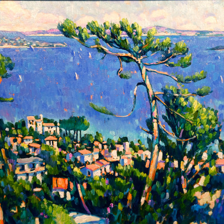 Terence Clarke - The Bay of Napoule, Cote D'Azure