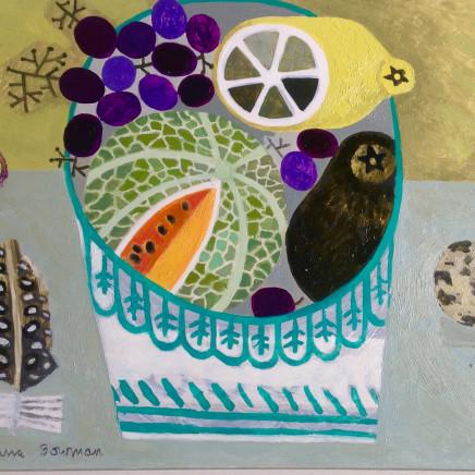 Vanessa Bowman - Fruit Bowl with Quails Egg