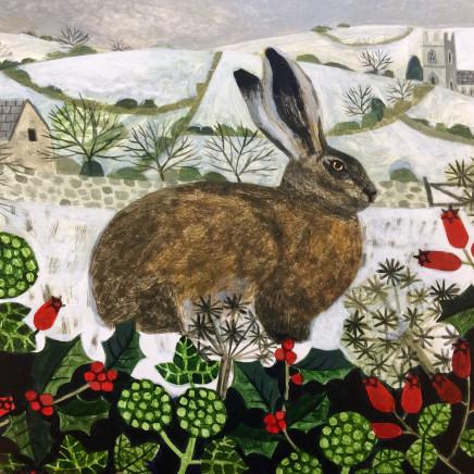 Vanessa Bowman - Hare in Winter