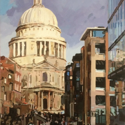 Colin Cook - St Paul's from Peter's Hill