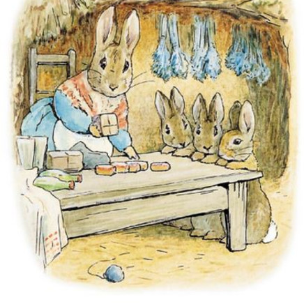 Beatrix Potter - The neatest, sandiest rabbit hole